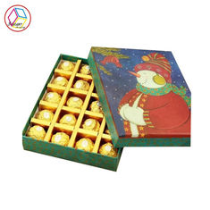 Chiny Fancy Chocolate Packaging Boxs Powlekany papier Lovely Feature OEM Service fabryka
