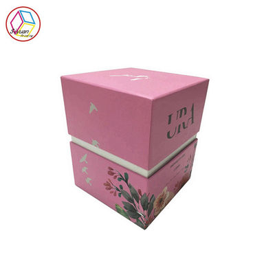 Chiny Eco Friendly Cardboard Candle Boxes / Candle Package Box Spring Color fabryka