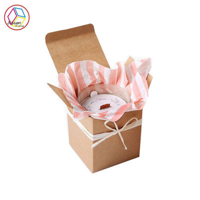 Chiny Brown Kraft Candle Boxes Recyclable Feature Customized Service fabryka